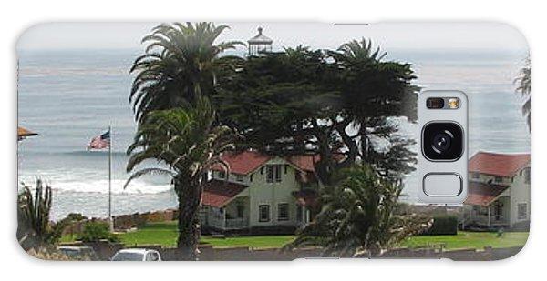 San Diego Pt Loma Lighthouse Galaxy Case by Jan Cipolla