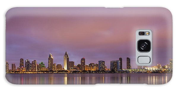 West Bay Galaxy Case - San Diego Skyline by Adam Romanowicz