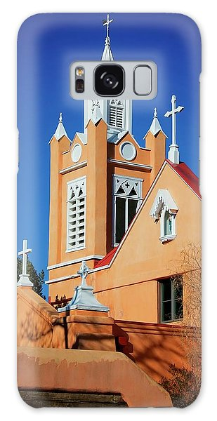 San Felipe De Neri Church, Albuquerque, New Mexico Galaxy Case