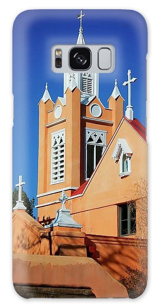 San Felipe De Neri Church, Albuquerque, New Mexico Galaxy Case