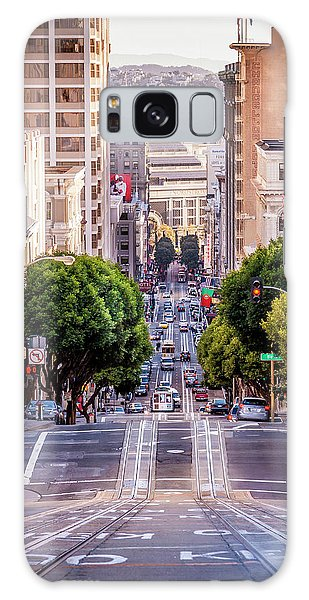 San Fran Cable Car Galaxy Case