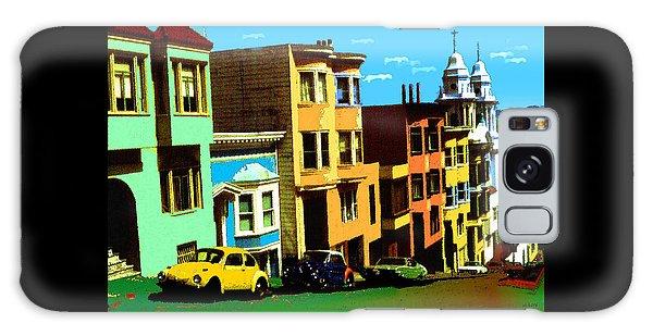San Francisco Pop Art Blue Green Red Yellow Galaxy Case