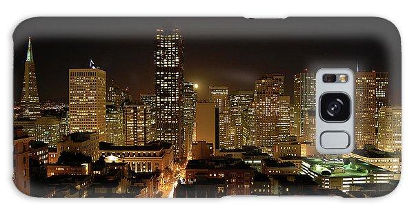San Francisco At Night Galaxy Case