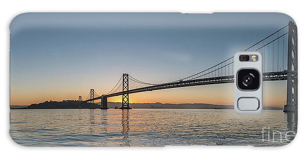San Francisco Bay Brdige Just Before Sunrise Galaxy Case