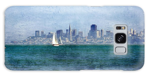 San Francisco Bay Galaxy Case by Serena King