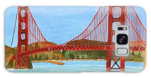 San Francisco Bridge  Galaxy Case by Magdalena Frohnsdorff