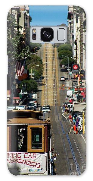 San Francisco Cable Cars Galaxy Case