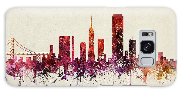 Colours Galaxy Case - San Francisco Cityscape 09 by Aged Pixel