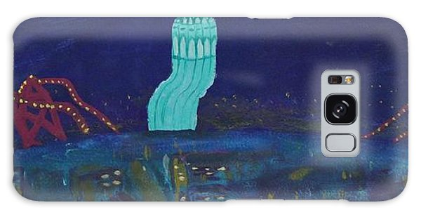San Francisco Coit Tower Abstract Galaxy Case
