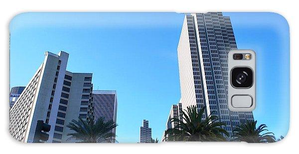 San Francisco Embarcadero Center Galaxy Case by Matt Harang