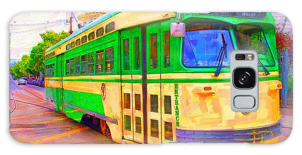 San Francisco F-line Trolley Galaxy Case