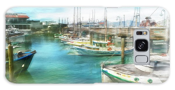 San Francisco Fishing Boats Galaxy Case