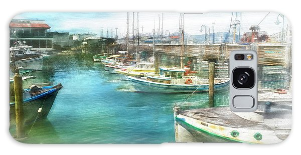 San Francisco Fishing Boats Galaxy Case by Michael Cleere