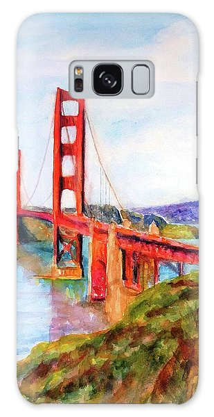 San Francisco Golden Gate Bridge Impressionism Galaxy Case