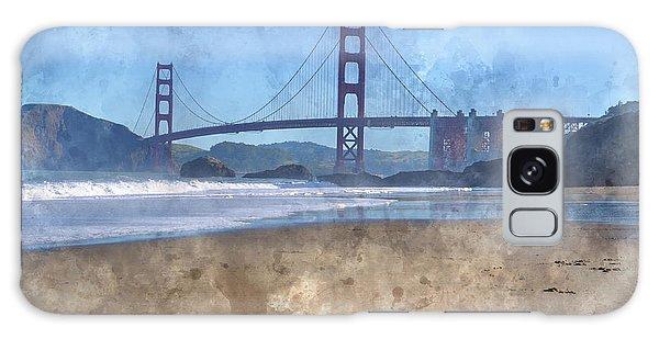 San Francisco Golden Gate Bridge In California Galaxy Case