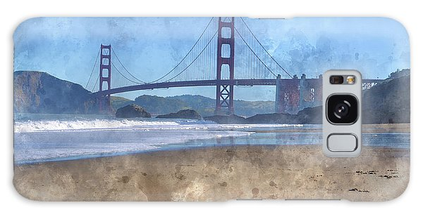 San Francisco Golden Gate Bridge In California Galaxy Case