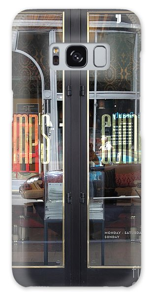 San Francisco Gumps Department Store Doors - Full Cut - 5d17094 Galaxy Case