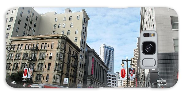 San Francisco - Jessie Street View Galaxy Case by Matt Harang