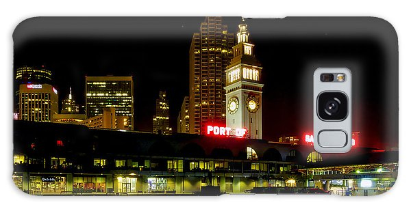 San Francisco Nights Galaxy Case by Mitch Shindelbower