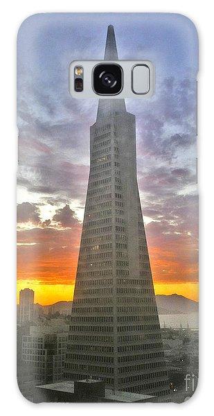 San Francisco Pyramid Galaxy Case