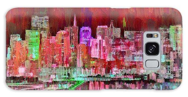 San Francisco Skyline 109 - Pa Galaxy Case