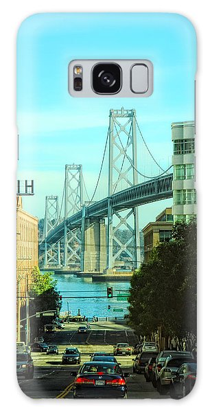 San Francisco Street Galaxy Case