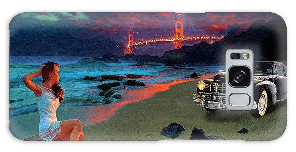 San Francisco Sunrise Galaxy Case