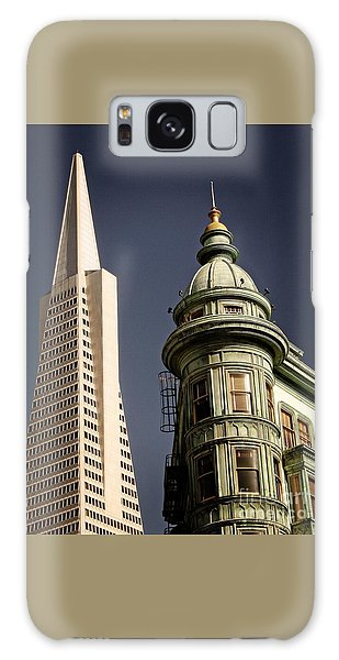 San Francisco Then And Now Galaxy Case