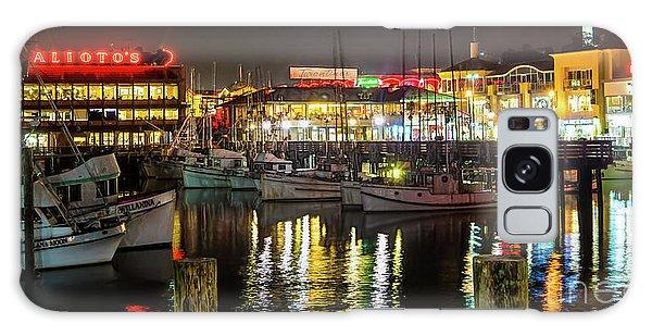 San Francisco's Fisherman's Wharf Galaxy Case