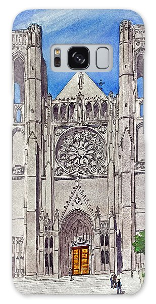 San Francisco's Grace Cathedral Galaxy Case