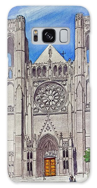 San Francisco's Grace Cathedral Galaxy Case by Mike Robles