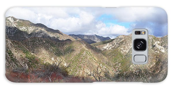 San Gabriel Mountains National Monument Galaxy Case by Kyle Hanson