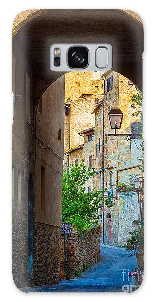 San Gimignano Archway Galaxy Case