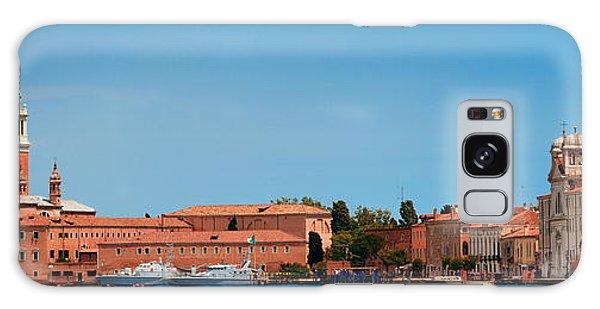 Galaxy Case featuring the photograph San Giorgio Maggiore Church Panorama by Songquan Deng
