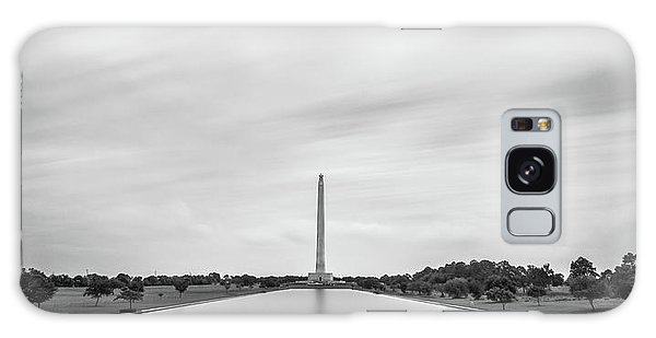 San Jacinto Monument Long Exposure Galaxy Case