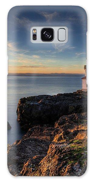 Galaxy Case featuring the photograph San Juan Island Serenity by Dan Mihai