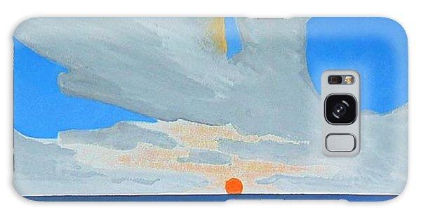 San Juan Sunrise Galaxy Case by Dick Sauer