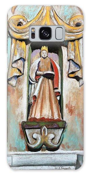 San Xavier Statue Galaxy Case by M Diane Bonaparte
