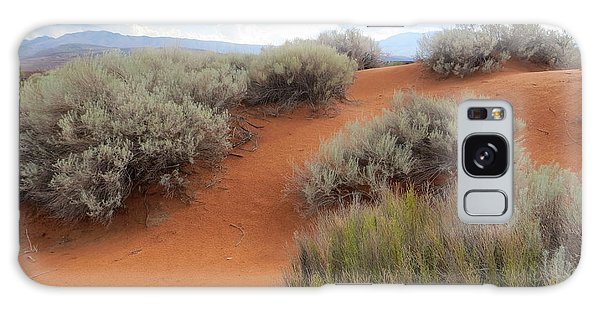 Sand And Sagebrush Galaxy Case