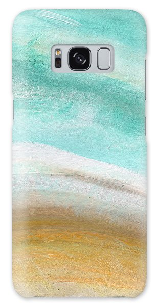 Abstract Landscape Galaxy Case - Sand And Saltwater- Abstract Art By Linda Woods by Linda Woods