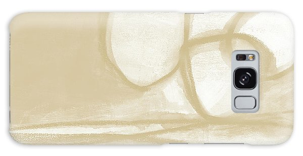 Natural Galaxy Case - Sand And Stone 6- Contemporary Abstract Art By Linda Woods by Linda Woods