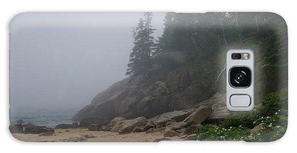 Sand Beach In A Fog Galaxy Case