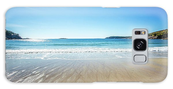 Sand Beach Galaxy Case