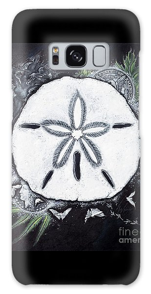 Sand Dollars Galaxy Case by Scott and Dixie Wiley
