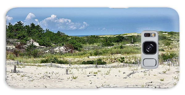 Sand Dune In Cape Henlopen State Park - Delaware Galaxy Case by Brendan Reals