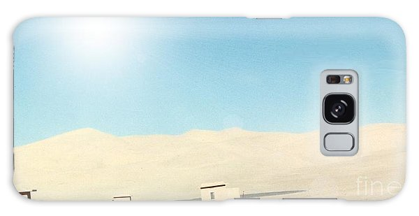 Sand Dune Surreal Galaxy Case