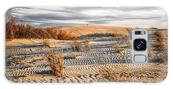 Galaxy Case featuring the photograph Sand Dune Wind Carvings by Donald Brown