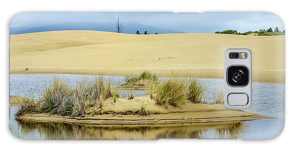 Sand Dunes And Water Galaxy Case by Jerry Cahill