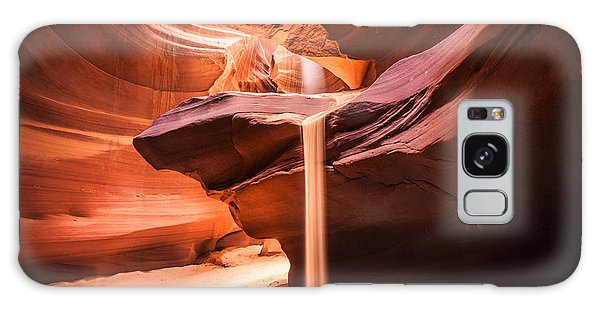 Sand Falls In Antelope Canyon Galaxy Case