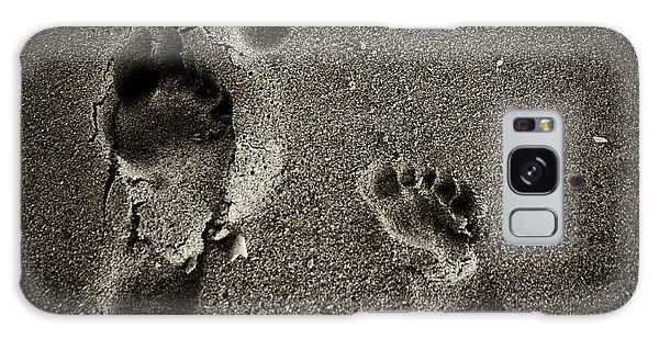 Sand Feet Galaxy Case